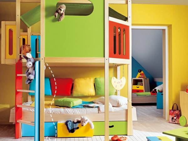 125 gro artige ideen zur kinderzimmergestaltung for Photos chambres d enfants