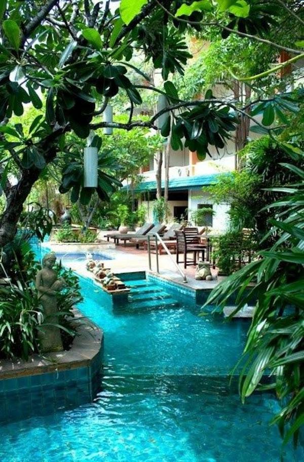 16 n tzliche tipps zur poolgestaltung im garten for Garden oases pool entrance
