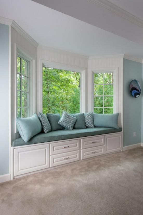 Fensterbank innen einbauen 15 beispiele zum nachschauen for Window sitting area