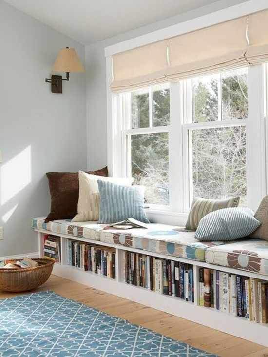 Fensterbank innen einbauen 15 beispiele zum nachschauen for Jugendzimmer naturholz