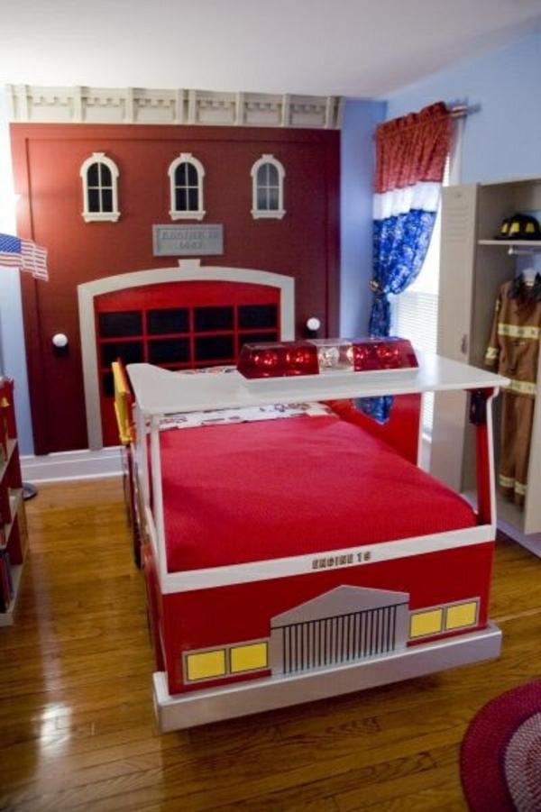 Kinderzimmer Tapeten Feuerwehr : 125 gro?artige Ideen zur Kinderzimmergestaltung