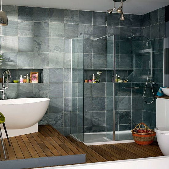 Modernes bad 70 coole badezimmer ideen for Modernes bad mit dusche