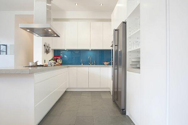 fliesen verlegen küche bodenfliesen grau