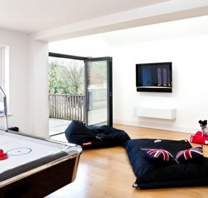 wohnzimmer grau streichen. Black Bedroom Furniture Sets. Home Design Ideas