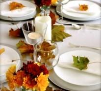 30 coole Ideen für Tischdeko im Herbst