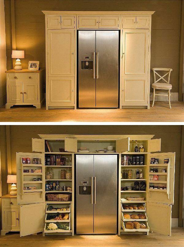 garderobe design für die küche