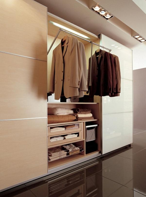 garderobe design mit schiebetüren