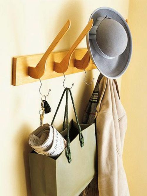 recyceln hat garderobenständer DIY  Kleiderständer selber bauen