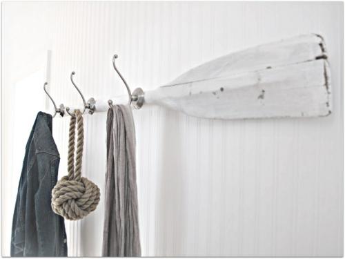 garderobenständer DIY selber bauen recyceln