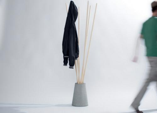 garderobenständer DIY selber bauen recyceln sachlich