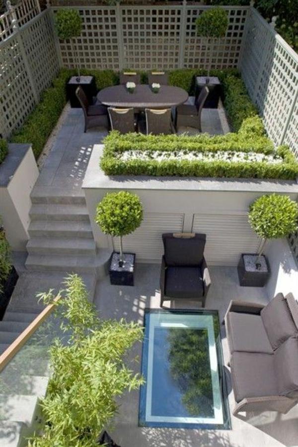 50 gartengestaltung ideen f r ihren garten und stil for Small back garden designs