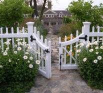 Garten gestalten, um die Nachbarsfamilie näher kennenzulernen