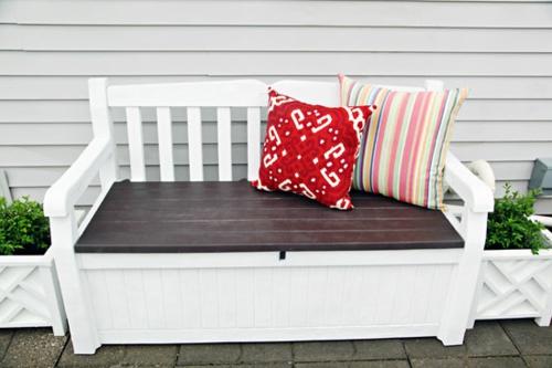 gartenbank selber bauen erstaunliche vorschl ge f r den au enbereich. Black Bedroom Furniture Sets. Home Design Ideas