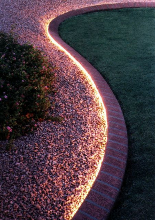 Led Landscaping Rope Light Home Design Ideas, Pictures, Remodel