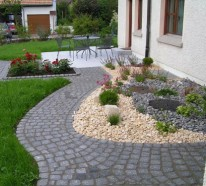 Vorgartengestaltung mit Kies – Wollen Sie einen effektvollen Vorgarten gestalten?