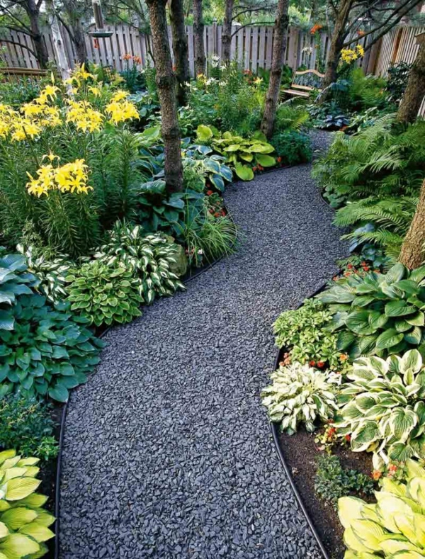 steingarten kreativ gestalten - 30 bilder und individuelle gartenideen, Gartenarbeit ideen
