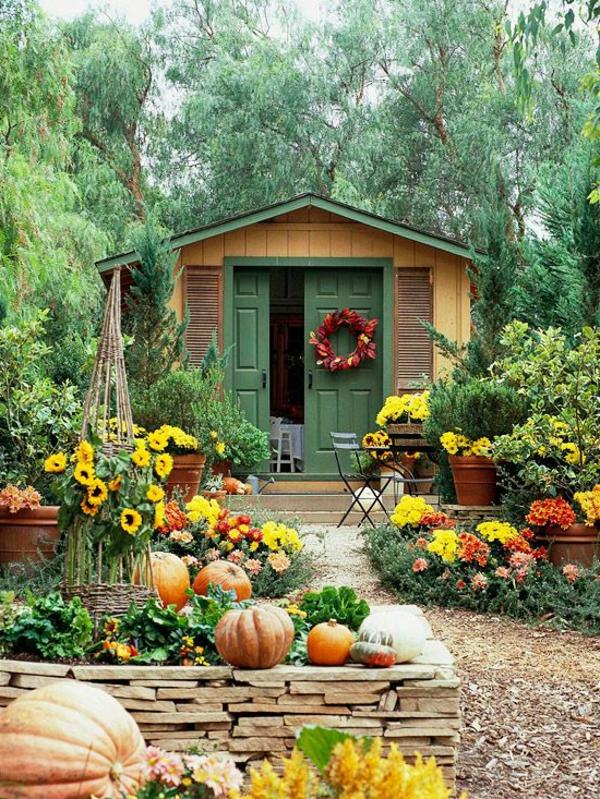 Gartenzubehör und Gartendeko, die Ihre Landschaft beleben