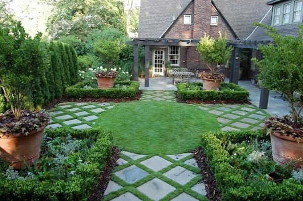 100 Bilder zur Gartengestaltung - die Kunst die Natur zu ...