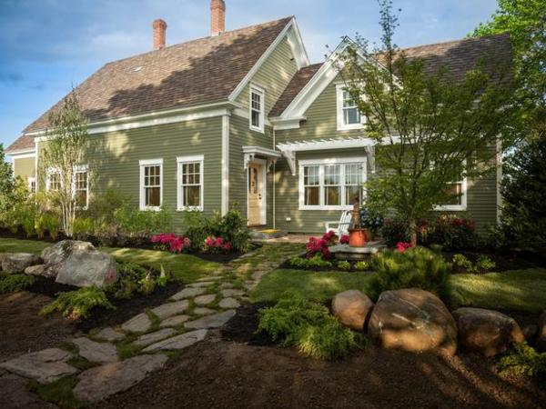 Vorgarten gestalten 23 schicke rustikale gartenideen for Gartengestaltung schatten