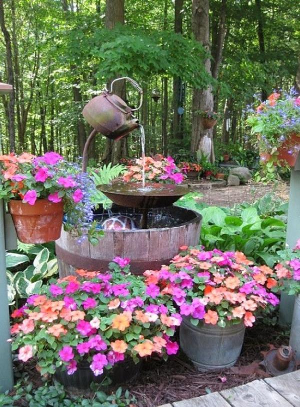 gartenideen schöne dekoration pflanzen