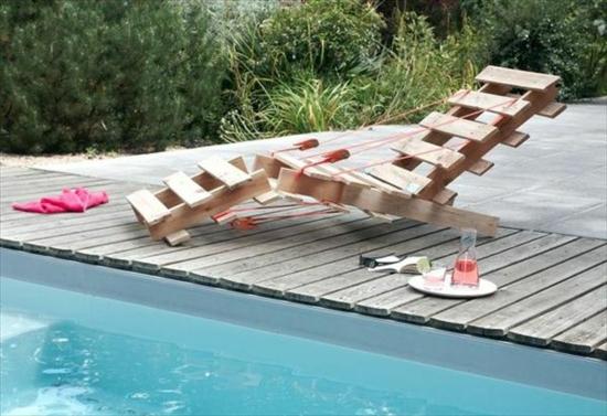 Gartenmöbel aus Paletten - trendy Außenmöbel zum Selbermachen
