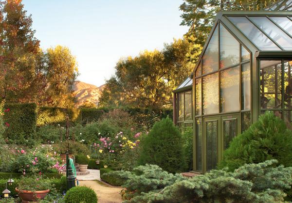 gewächshaus im freien pflanzen