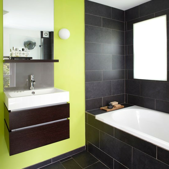 Green Bathroom Tiles