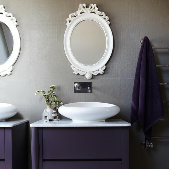 Modernes bad 70 coole badezimmer ideen - Badezimmer deckenfarbe ...