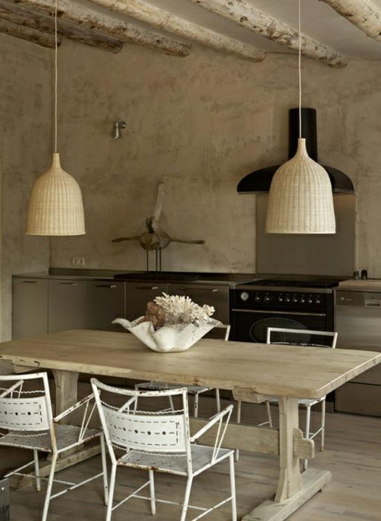 50 moderne landhausk chen k chenplanung und rustikale k chenm bel. Black Bedroom Furniture Sets. Home Design Ideas