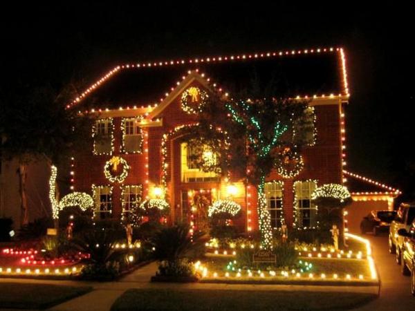 großartige dekoration für hauseingang machen leuchten