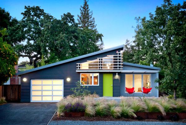bäume beleuchtung garage haus struktur pflanzen Veranda gestalten