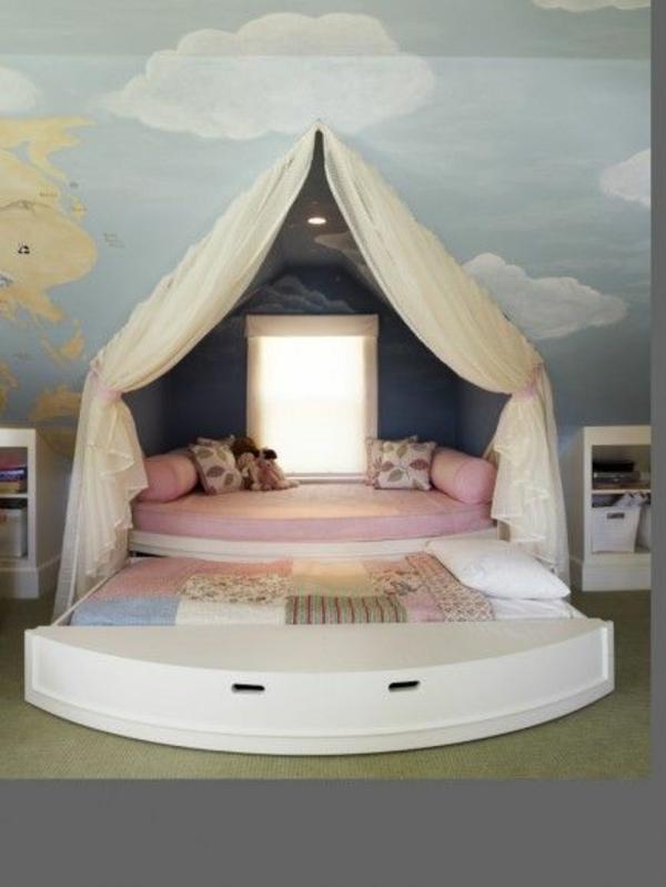 125 gro 223 artige ideen zur kinderzimmergestaltung hidden bed ideas submited images
