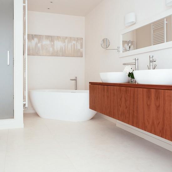 waschbecken unterschrank holz. Black Bedroom Furniture Sets. Home Design Ideas