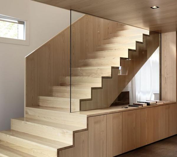 101 moderne treppen erscheinen als blickfang in ihrer wohnung for Schrank gestalten