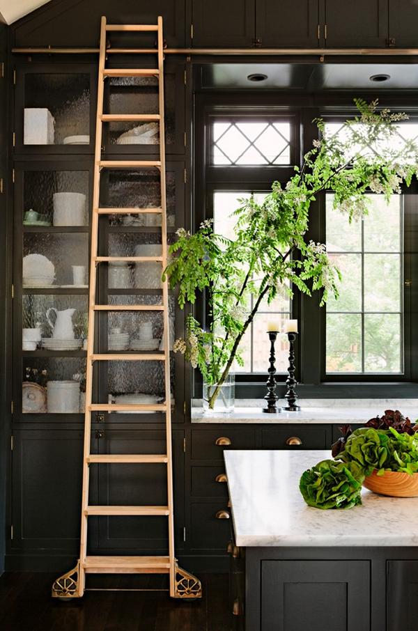 dekoartikel für einrichtungsideen treppe küchenschrank pflanze teller