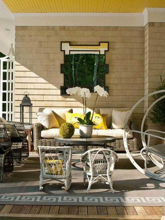 Ideen f r terrassengestaltung und bilder zum inspirieren for Couchtisch yellow