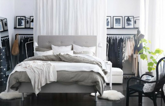 Ikea Schlafzimmer Bett Schlafzimmer Komplett Einrichten Farbgestaltung  Neutrale Farben