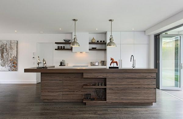 industriell kücheneinrichtung recycelt kücheninsel robust stil