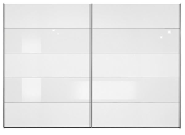 inline weiß und weiß glas