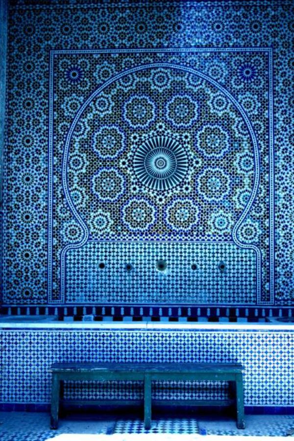 inspiration in blau für wand streichen