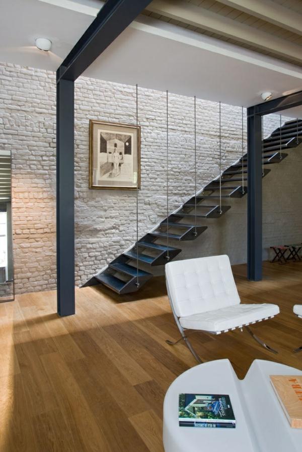 101 moderne treppen erscheinen als blickfang in ihrer wohnung, Innenarchitektur ideen