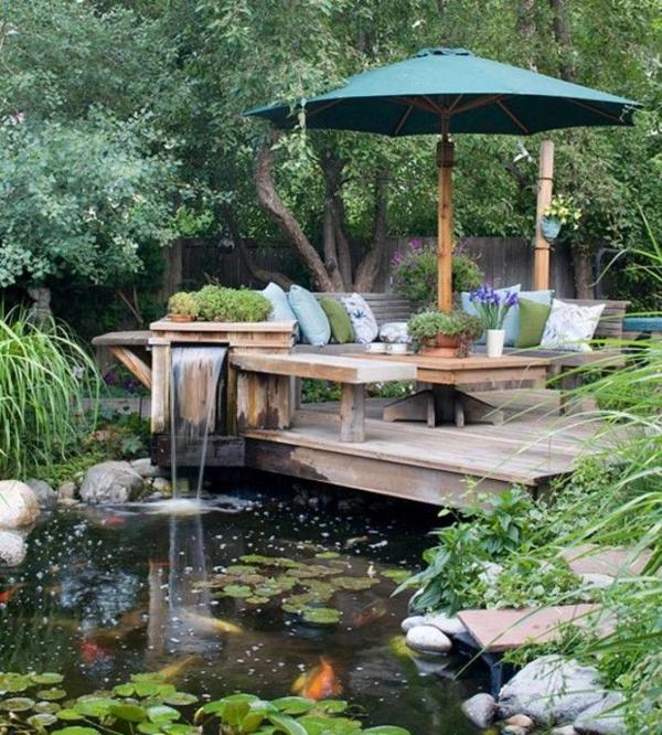 100 gartengestaltung bilder und inspiri rende ideen f r for Gartengestaltung teich
