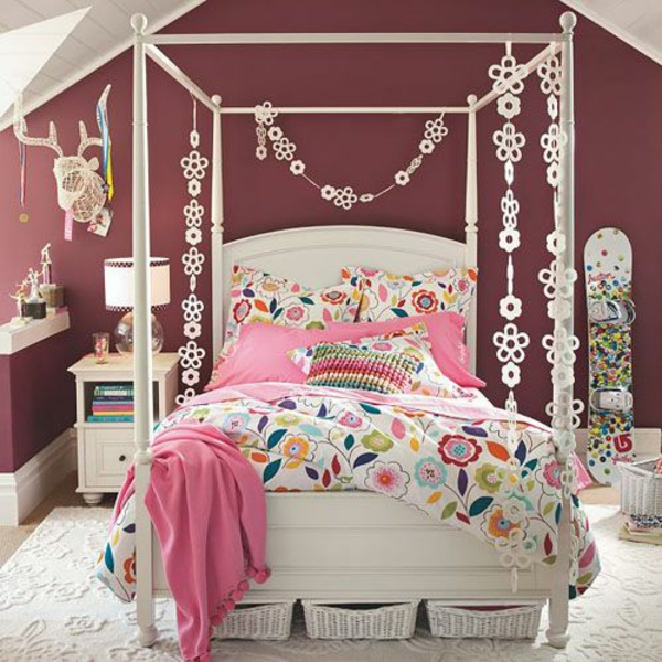 1001 ideen f r jugendzimmer gestalten freshideen - Mature teenage girl bedroom ideas ...