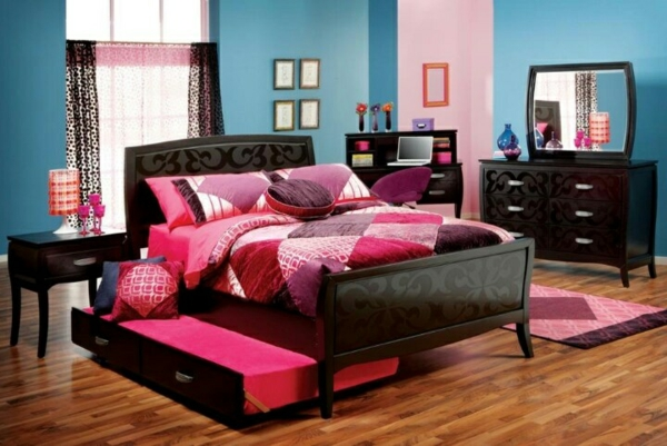 1001 ideen f r jugendzimmer gestalten freshideen. Black Bedroom Furniture Sets. Home Design Ideas