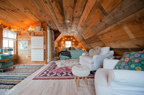 Jugendzimmer Einrichten Dachzimmer Bett Sofa Hocker Pictures