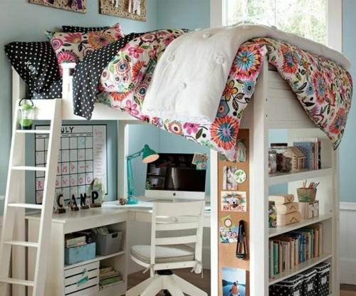 Jugendzimmer einrichtungsideen die ihre kinder lieben werden for Kinderzimmer hochbett ideen
