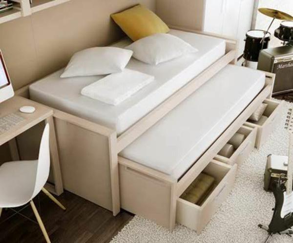 Jugendzimmer gestalten 100 faszinierende ideen for Bett fur jugendzimmer