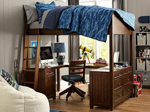 50 jugendzimmer einrichten komfortabler wohnen for Schreibtisch gestalten