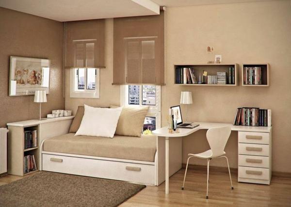 125 Großartige Ideen Zur Kinderzimmergestaltung Schlafzimmer Einrichten Mit Schreibtisch