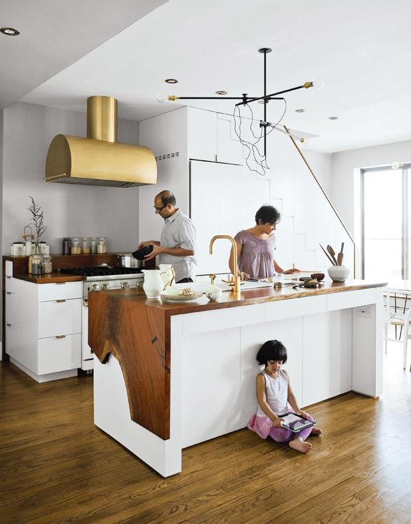 dekoartikel für einrischtungsideen küche absauger messing kücheninsel